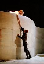 ROMEO AND JULIET by Shakespeare  music: Stephen Warbeck  design: Tom Piper  lighting: Chris Davey  fights: Terry King   movement: Liz Ranken  director: Michael Boyd ~balcony scene: Alexandra Gilbreath...