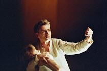 ROMEO AND JULIET by Shakespeare  music: Stephen Warbeck  design: Tom Piper  lighting: Chris Davey  fights: Terry King   movement: Liz Ranken  director: Michael Boyd ~cradling unconscious Juliet: Alexa...