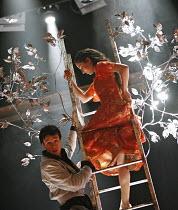 ROMEO AND JULIET   by Shakespeare   director: Nancy Meckler,Rupert Evans (Romeo), Morven Christie (Juliet),Royal Shakespeare Company /  Royal Shakespeare Theatre, Stratford-upon-Avon, England   18/04/...