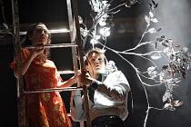 ROMEO AND JULIET   by Shakespeare   director: Nancy Meckler,Morven Christie (Juliet), Rupert Evans (Romeo),Royal Shakespeare Company /  Royal Shakespeare Theatre, Stratford-upon-Avon, England   18/04/...