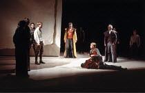 ROMEO AND JULIET by Shakespeare  set design: Ralph Koltai  costumes: Nadine Baylis  lighting: Mark Pritchard  choreography: David Toguri  fights: Peter Woodward  director: Ron Daniels   in white shir...