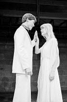 'ROMEO AND JULIET' (Shakespeare - director: Denise Coffey),Paul Jones (Romeo), Natasha Pyne (Juliet),Young Vic Theatre, London SE1                       1977,