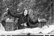 ROMEO AND JULIET by Shakespeare design: Alison Chitty lighting: Jean Kalman director: David Leveaux ~Michael Maloney (Romeo), Claire Holman (Juliet)~Royal Shakespeare Company (RSC), Royal Shakespeare...