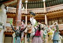 'ROMEU & JULIETA' based on 'ROMEO AND JULIET' (Shakespeare)~~Grupo Galpao (Brazil) / Shakespeare's Globe, London SE1             07/2000