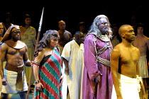 'AIDA' (Verdi)~Tamsin Dives (Aida), Phillip Joll (Amonasro)~Royal Albert Hall, London  23/02/2001