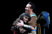 'AIDA' (Verdi)~Tamsin Dives (Aida), John Keyes (Radames)~Royal Albert Hall, London  23/02/2001