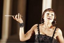 'GIULIO CESARE' (Handel - conductor: William Christie   director: David McVicar),Danielle de Niese (Cleopatra),Glyndebourne Festival Opera / East Sussex, England    03/07/2005,