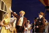 THE ELIXIR OF LOVE (L^ELISIR D^AMORE)   by Donizetti   conductor: Tecwyn Evans   director: Daniel Slater<br>,Peter Savidge (Dulcamara),Opera North / Leeds, England      26/01/2007,