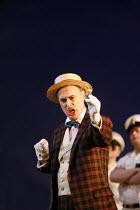 THE ELIXIR OF LOVE (L^ELISIR D^AMORE)   by Donizetti   ,conductor: Tecwyn Evans   director: Daniel Slater<br>,Peter Savidge (Dulcamara),Opera North / Leeds, England      26/01/2007,