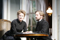 GHOSTS   by Ibsen   in a new version  by Frank McGuinness   director: Robert Bowman <br>,Sian Thomas (Mrs Alving), Simon Shepherd (Pastor Manders),Bristol Old Vic / Bristol, England...