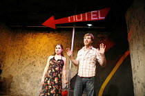 MOTEL CHRONICLES   by Sam Shepard   director: Gemma Kerr <br>,Natalie Ball, Oliver Hembrough,Theatre 503 / Latchmere Pub, London SW11                 03/01/2007                        ,
