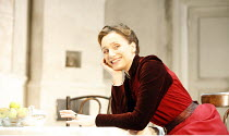 THE SEAGULL by Chekhov   in a new version by Christopher Hampton   director: Ian Rickson <br>,Kristin Scott Thomas (Arkadina),Jerwood Theatre Downstairs / Royal Court Theatre, London SW1    25/01/2007...