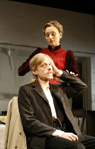 THE SEAGULL by Chekhov   in a new version by Christopher Hampton   director: Ian Rickson <br>,Mackenzie Crook (Konstantin), Kristin Scott Thomas (Arkadina),Jerwood Theatre Downstairs / Royal Court The...