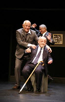 SIT AND SHIVER   written & directed by Steven Berkoff <br>,Steven Berkoff (Lionel) with (seated) Barry Davis (Sam), Frank Lazarus (Morris),Hackney Empire, London E8       29/01/2007,