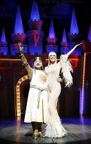 Monty Python^s SPAMALOT   book & lyrics: Eric Idle   music: John Du Prez & Eric Idle   ,director: Mike Nichols <br>,Simon Russell Beale (King Arthur), Hannah Waddingham (The Lady of the Lake),Palace T...