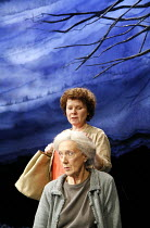 THERE CAME A GYPSY RIDING   by Frank McGuinness   director: Michael Attenborough <br>,(rear) Imelda Staunton (Margaret), (seated) Eileen Atkins (Bridget),Almeida Theatre, London N1       17/01/2007,
