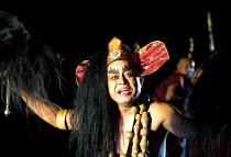 'UTTAR PRIYADARSHI' R.K. Bhogen (Ashoka/Priyadarshi) Chorus Repertory Theatre of Manipur/BITE:01  Barbican Theatre, London EC1  26/09/2001