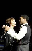 'THE VORTEX' (No'l Coward  -  director: Michael Grandage)~Francesca Annis (Florence Lancaster), Chiwetel Ejiofor (Nicky Lancaster)~Donmar Theatre, London WC2               10/12/2002