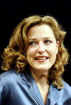 WHAT THE NIGHT IS FOR  by Michael Weller  design: Tim Hatley  director: John Caird ~Gillian Anderson (Melinda Metz)~Comedy Theatre, London SW1  27/11/2002 ~(c) Donald Cooper/Photostage   photos@photos...