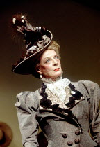 THE IMPORTANCE OF BEING EARNEST  by Oscar Wilde  design: Bob Crowley  lighting: Paul Pyant  director: Nicholas Hytner~Maggie Smith (Lady Bracknell)~Aldwych Theatre, London WC2  09/03/1993 ~(c) Donald...