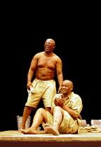 'THE ISLAND' (Fugard)~l-r: John Kani, Winston Ntshona~RNT/Lyttelton Theatre, London  26/01/2000