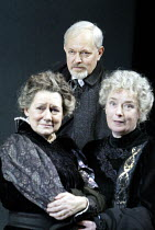 'JOHN GABRIEL BORKMAN' (Ibsen)~Michael Pennington (John Gabriel Borkman) ~with (l-r) Gillian Barge (Gunhild Borkman), Linda Bassett (Ella Rentheim)~English Touring Theatre / Greenwich Theatre, London...