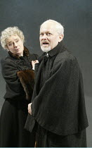 'JOHN GABRIEL BORKMAN' (Ibsen)~Michael Pennington (John Gabriel Borkman) with Linda Bassett (Ella Rentheim)~English Touring Theatre / Greenwich Theatre, London SE10             06/03/2003
