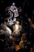 JUBILEE  by Peter Barnes  design: Robert Jones  lighting: Tim Mitchell  fights: Terry King  director: Gregory Doran <br>~Nicholas Woodeson (David Garrick)~Royal Shakespeare Company (RSC), Swan Theatre...