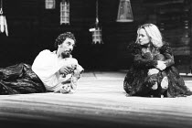 THE TAMING OF THE SHREW   by Shakespeare - director: Barry Kyle,Alun Armstrong (Petruchio), Sinead Cusack (Katherina),Royal Shakespeare Company / Royal Shakespeare Theatre, Stratford-upon-Avon...