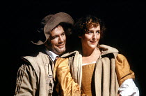 'THE TAMING OF THE SHREW' (Shakespeare)~Brian Cox (Petruchio), Fiona Shaw (Katherine)~Royal Shakespeare Company / Royal Shakespeare Theatre   Stratford-upon-Avon                    1987