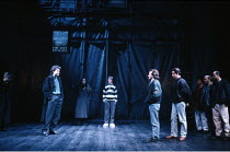 THE TAMING OF THE SHREW   by Shakespeare    design: Tim Goodchild  director: Bill Alexander <br> ~centre right: Anton Lesser (Petruchio) ~Royal Shakespeare Company (RSC), Royal Shakespeare Theatre, St...