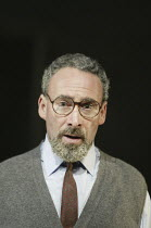 'PRIMO' (based on 'If This Is A Man' by Primo Levi, adapted by Antony Sher - director: Richard Wilson)~Antony Sher (Primo Levi)~Cottesloe Theatre / National Theatre (NT), London SE1        30/09/2004