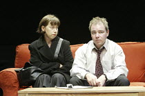 'PRIVATE FEARS IN PUBLIC PLACES' (written & directed by Alan Ayckbourn)~Sarah Moyle (Imogen), Paul Kemp (Stewart)~Stephen Joseph Theatre / Scarborough, England           17/08/2004