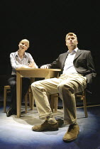 'PRIVATE FEARS IN PUBLIC PLACES' (written & directed by Alan Ayckbourn)~Melanie Gutteridge (Nicola), Stephen Beckett (Dan)~Stephen Joseph Theatre / Scarborough, England           17/08/2004