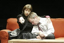 'PRIVATE FEARS IN PUBLIC PLACES' (written & directed by Alan Ayckbourn),Sarah Moyle (Imogen), Paul Kemp (Stewart),Stephen Joseph Theatre / Scarborough  08/2004               revival @ Orange Tree Thea...