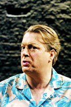 'PRIVATES ON PARADE' (Nichols)~Roger Allam (Acting Captain Terri Dennis) ~Donmar Warehouse, London WC2          10/12/2001