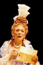 'THE PROVOK'D WIFE' (Vanbrugh)~Alison Steadman (Lady Fancyfull)~Old Vic Theatre, London   04/07/1997