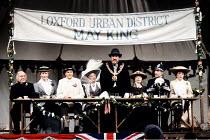'ALBERT HERRING' (Britten) l-r: Derek Hammond-Stroud (Mr Gedge), Felicity Palmer (Florence Pike), John Graham-Hall (Albert Herring),  Pauline Tinsley (Lady Billows), Alexander Oliver (Mr Upfold), (?...