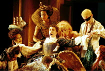 'ALCINA' (Handel)~Ruggiero is prepared for the day: Sarah Connolly (seated, centre)~ENO  29/11/1999 ~(c) Donald Cooper/Photostage   photos@photostage.co.uk   ref/A20
