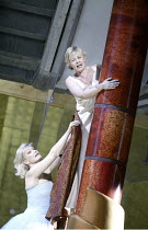 'ARABELLA' (Richard Strauss - conductor: Christoph von Dohnanyi   director: Peter Mussbach)~l-r: Karita Mattila (Arabella), Barbara Bonney (Zdenka)~The Royal Opera / Covent Garden   London WC2...