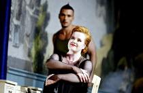 'ARIADNE AUF NAXOS' (Strauss)~Petra Lang (Ariadne) with Nathan Gunn (Harlequin)~The Royal Opera / Covent Garden, London WC2                   06/09/2002