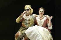 'ARIADNE AUF NAXOS' (Richard Strauss - conductor: Carlo Rizzi   director: Neil Armfield)~D'Arcy Bleiker (Harlequin), Katarzyna Dondalska (Zerbinetta)~Welsh National Opera, New Theatre, Cardiff...
