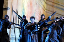 'ARIODANTE' (Handel)~centre: Catrin Wyn-Davies (Ginevra)~English National Opera/London Coliseum   WC2   06/03/2002