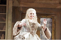 'THE BARBER OF SEVILLE' (Rossini - conductor: Dominic Wheeler   original director: Jonathan Miller),Alison Roddy (Rosina),English National Opera / London Coliseum  WC2         16/02/2005,