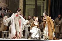 'LA CENERENTOLA' (Rossini - conductor: Vladimir Jurowski   director: Peter Hall),l-r: Lucia Cirillo (Tisbe), Ruxandra Donose (Angelina), Raquela Sheeran (Clorinda),Glyndebourne Festival Opera / East S...