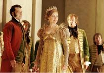 'LA CENERENTOLA' (Rossini - conductor: Vladimir Jurowski   director: Peter Hall),(left) Simone Alberghini (Dandini), Ruxandra Donose (Angelina/Cenerentola),Glyndebourne Festival Opera / East Sussex, E...