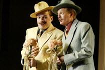 'COSI FAN TUTTE' (Mozart)~l-r: Christopher Maltman (Guglielmo), Toby Spence (Ferrando) ~English National Opera/London Coliseum               29/05/2002