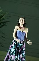 'COSI FAN TUTTE' (Mozart - director: Samuel West)~Mary Plazas (Fiordiligi)~English National Opera / Barbican Theatre, London EC2                   20/09/2003