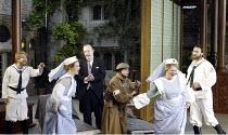 'COSI FAN TUTTE' (Mozart - coductor: Steuart Bedford   director: John Cox)~l-r: Daniel Belcher (Guglielmo), Wendy Dawn Thompson (Dorabella), Jonathan Best (Don Alfonso), Lillian Watson (Despina), Sara...