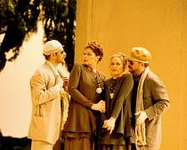 'COSI FAN TUTTE' (Mozart)~l-r: Simon Keenlyside (Guglielmo), Susan Graham (Dorabella), ~       Amanda Roocroft (Fiordiligi), Bruce Ford (Ferrando) ~The Royal Opera  18/01/95